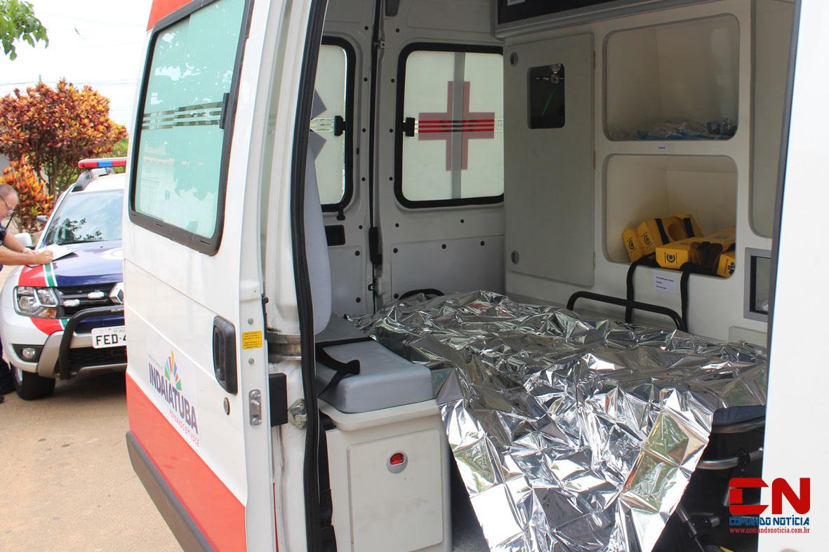 ambulância e guarda joão pioli