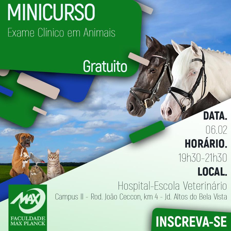 Minicurso Med.Vet (fb)